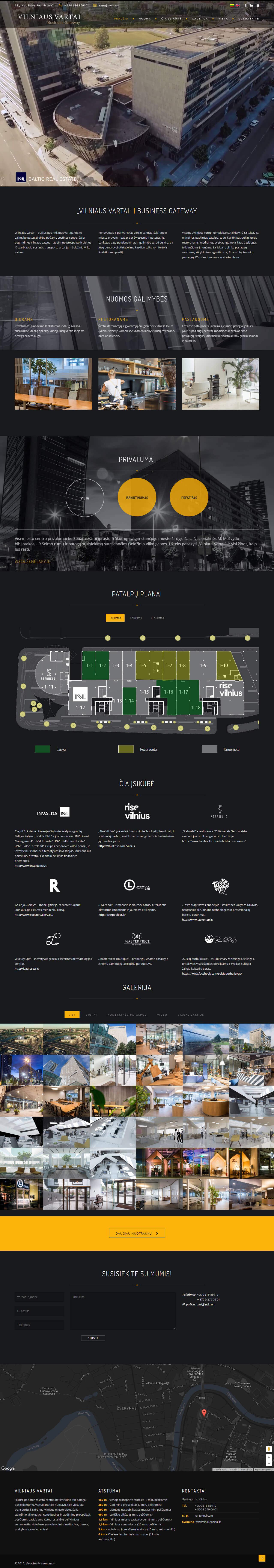 Vilniaus vartai - interneto svetainė